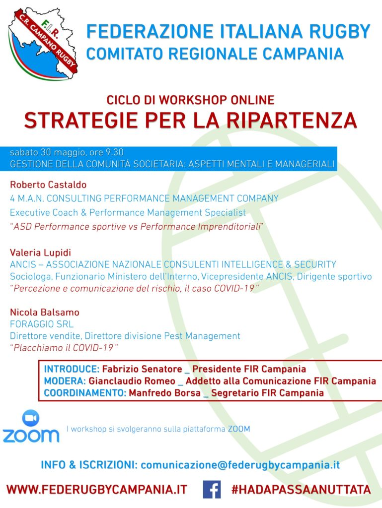 FIR Campania - workshop 1 - 30-05-2020
